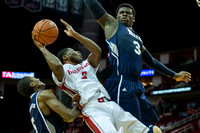 NCAA Basketball 2013 - University of Houston Cougars defeat the Rice Owls 54-52