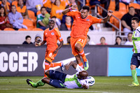 Soccer 2013 - The Houston Dynamo play Santos Laguna