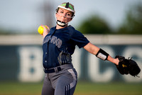 Brazoswood vs Clear Creek softball (04-13-15)