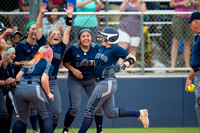 Brazoswood vs Cypress Ranch softball playoffs (05-22-15)