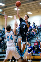 Brazoswood vs Ft Bend Clements basketball playoffs (02-24-15)