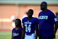 Angleton Wildcats vs. Brazoswood Buccaneers football game 09-07-12