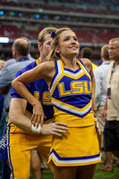 NCAA football 2014 - LSU Tigers vs Wisconsin Badgers