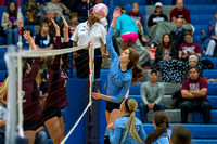 Brazoswood vs Clear Creek volleyball (10-14-14)