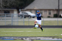 Soccer 2013 Ð Brazoswood Lady Bucs varsity team defeats the Brazoswood Alumni team 2-1.