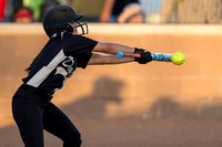 Danbury vs Van Vleck softball (04-12-13)