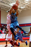 Brazoswood vs Dulles basketball (12-28-13)