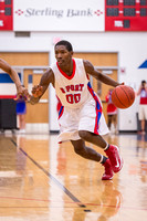 Basketball playoffs 2013 Ð the Brazosport Exporters defeat the Pearland Dawson Eagles 75-71.