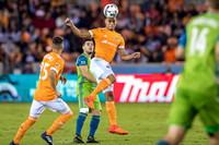 Houston Dynamo vs Seattle Sounders playoffs (11-21-17) more 2nd half shots to come...