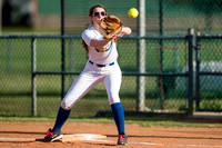 Brazosport Christian School vs Baytown Christian Academy softball (03-20-14)