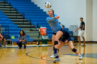 Brazoswood vs Clear Falls volleyball (10-03-14)