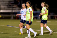 Soccer 2013 – the Brazoswood Lady Bucs defeat the Clear Brook Lady Wolverines 5-0.