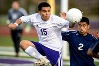 Angleton vs Lamar Consolidated playoff soccer (04-04-14)